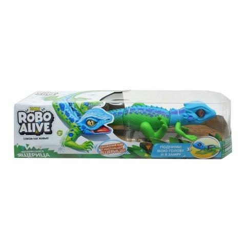 Робо-ящерица 1TOY RoboAlive Сине-зеленая
