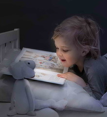 Ночник Барашек Фин при чтении