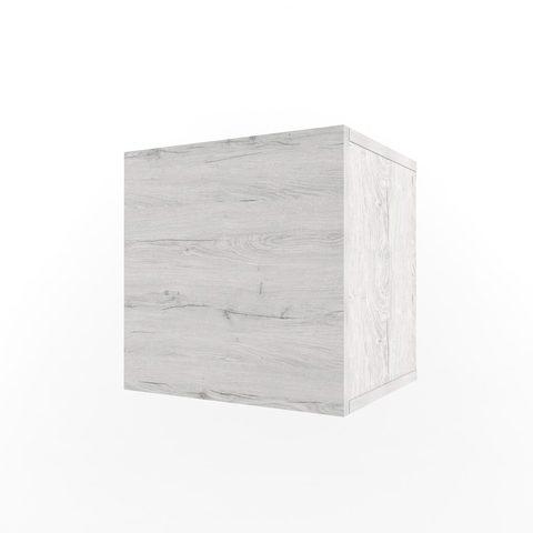 Полка Куб с фасадом Эльза 38 попугаев Ньютон Грэй