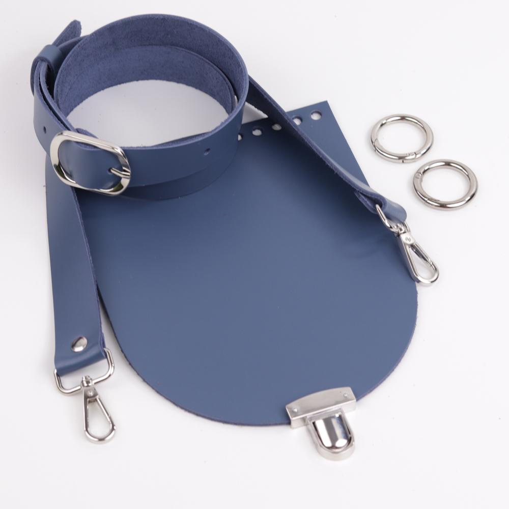 """Комплекты Комплект для сумочки Орео """"Синий"""" N12 20210328-IMG_0308.jpg"""