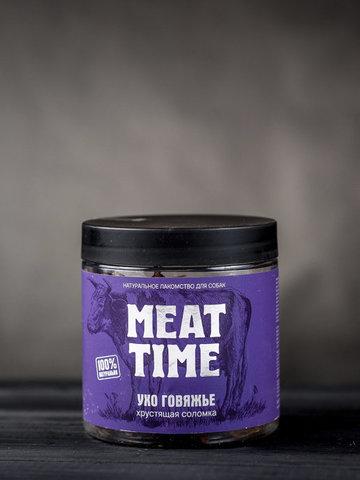 MEAT TIME Ухо говяжье Хрустящая соломка, 50гр