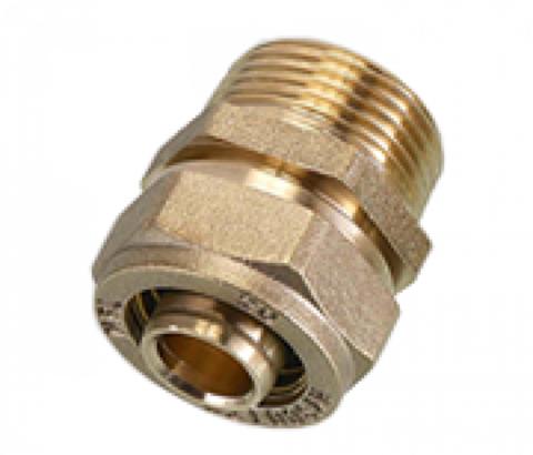 Соединение (муфта) труба-наружняя резьба (папа) SМ 15*1/2 - Hydrosta Flexy