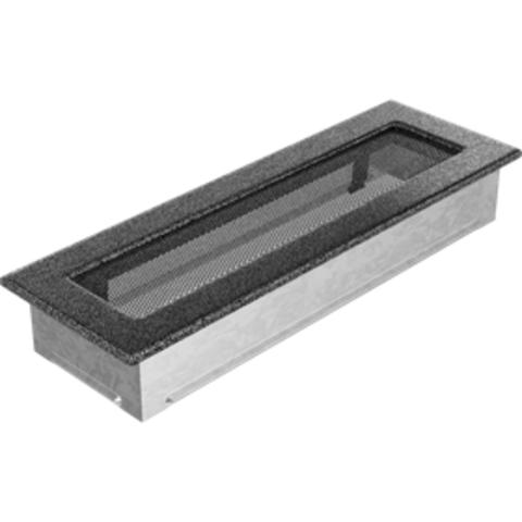 Вентиляционная решетка Черная/Серебро (11*32) 32CS