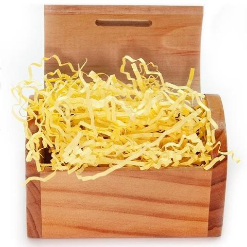 Наполнитель бумажный, Солнечно-желтый, 50 гр
