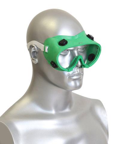 Очки  (Р2) закрытые, с прямой вентиляцией