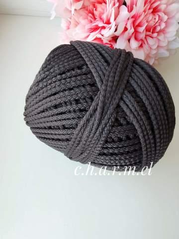 Темно-серый Полиэфирный шнур 5 мм