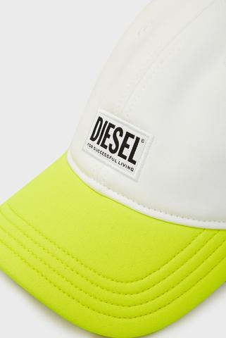 Мужская белая кепка DURBO HAT Diesel