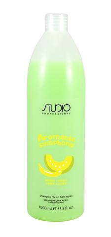 Бальзам для всех типов волос Банан и дыня,Kapous Aromatic,1000 мл