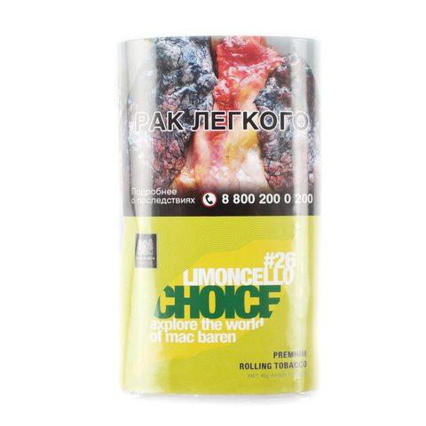 Табак сигаретный Mac Baren LIMONCELLO CHOICE 40 гр