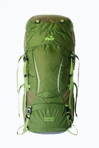 Рюкзак туристический Tramp Sigurd 60+10 TRP-045 (зеленый)