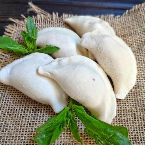 Фотография Пельмени из куриных грудок с грибам / 500 г купить в магазине Афлора