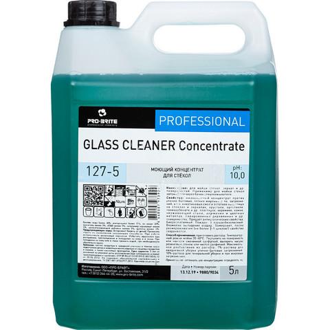 Моющее средство для стекол с нашатырным спиртом Pro-Brite Glass Cleaner Concentrate (127-5) 5 л (концентрат)