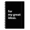 Блокнот My great ideas с разделителями