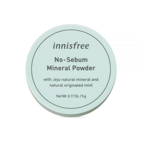 Минеральная рассыпчатая матирующая пудра INNISFREE No Sebum Mineral Powder
