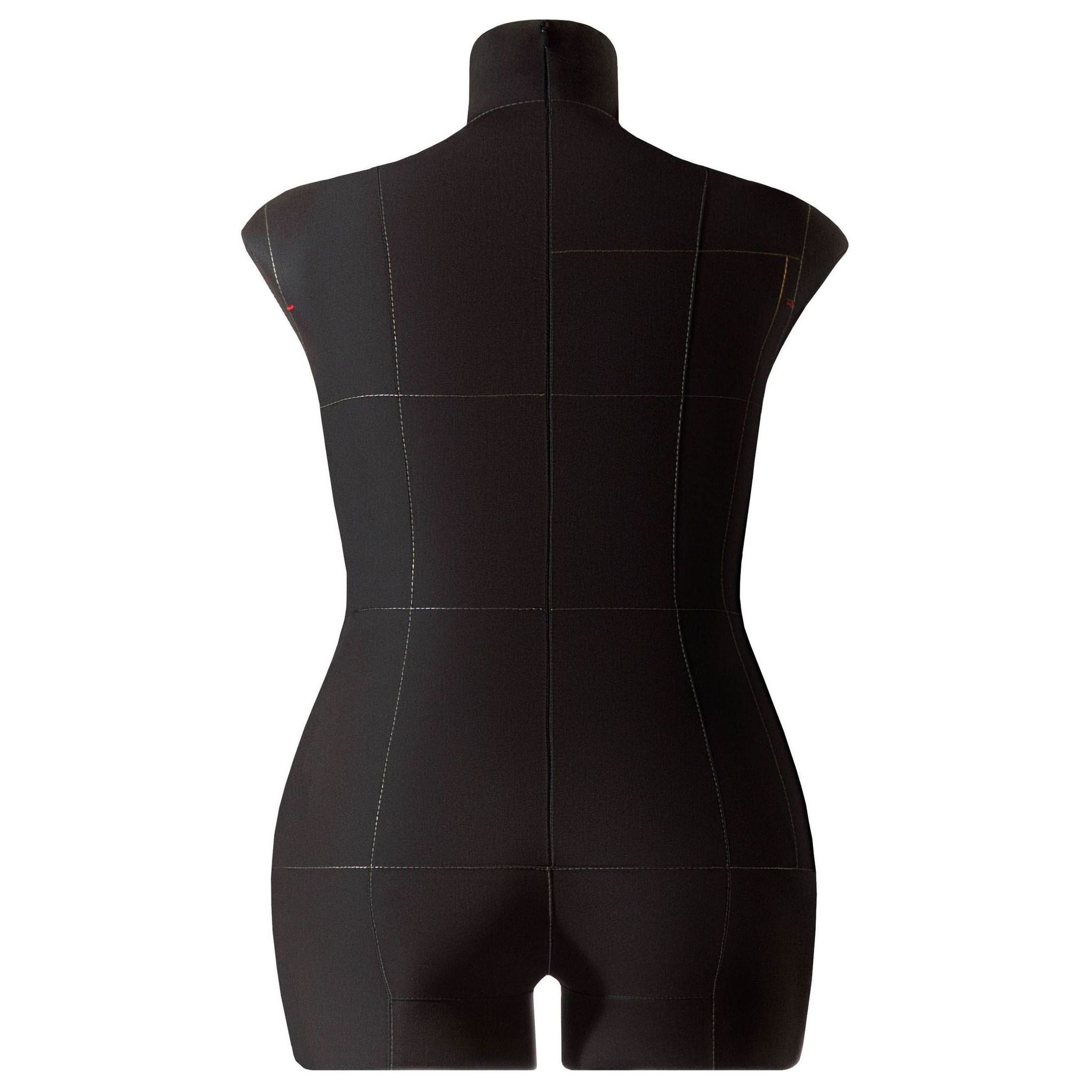 Манекен портновский Моника, комплект Премиум, размер 54, ЧерныйФото 2