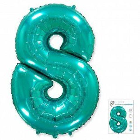 Цифра восемь - тиффани