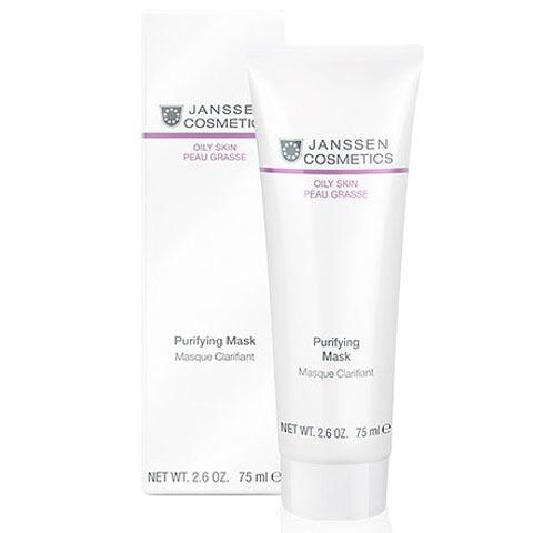Janssen Oily Skin: Себорегулирующая очищающая маска для лица (Purifying mask)