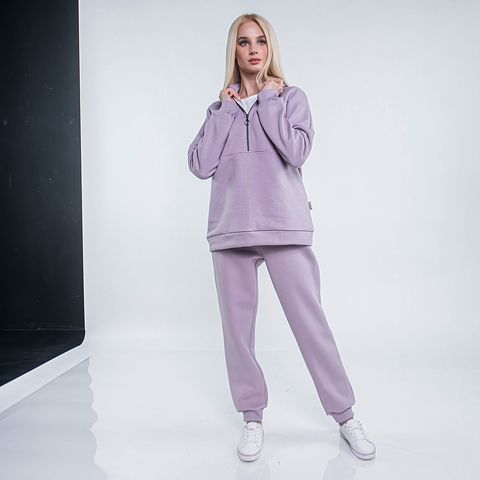 Warm joggers for woman - Heather