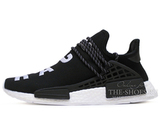 Кроссовки Мужские ADIDAS NMD x Pharrell Williams NMD Human Race Black White