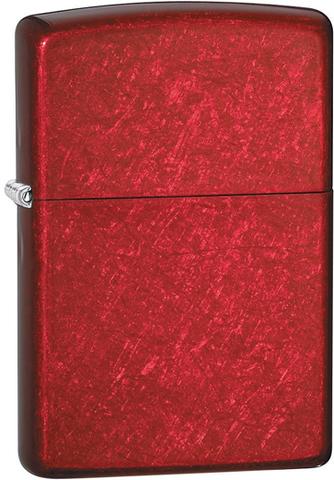 Зажигалка ZIPPO Classic Candy Apple Red™  Красная  ZP-21063