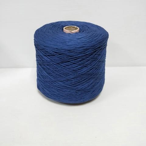 Cordonetto, Хлопок 100%, Насыщенный темно-синий, мерсеризованный, 230 м в 100 г