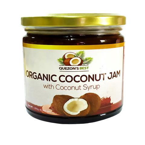 QUEZON'S BEST, Органический кокосовый джем с кокосовым сиропом, 265мл