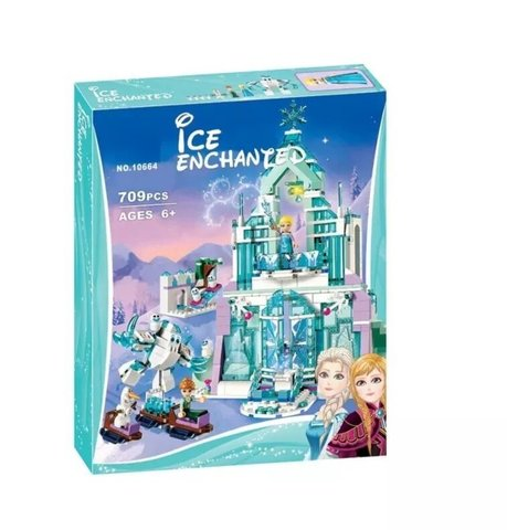 Конструктор Ice Enchanted 10664 Волшебный ледяной замок Эльзы