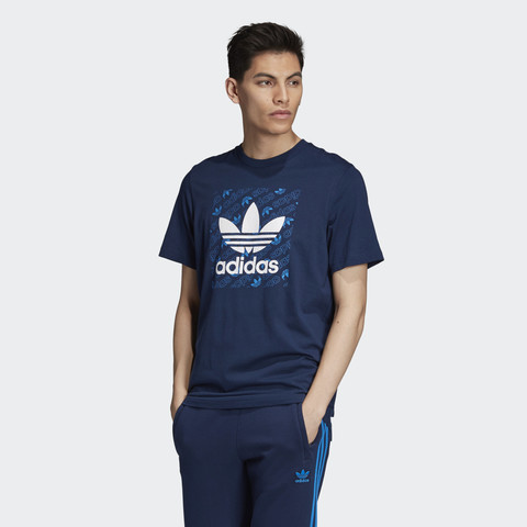 Футболка мужская adidas ORIGINALS MONOGRAM SQUARE