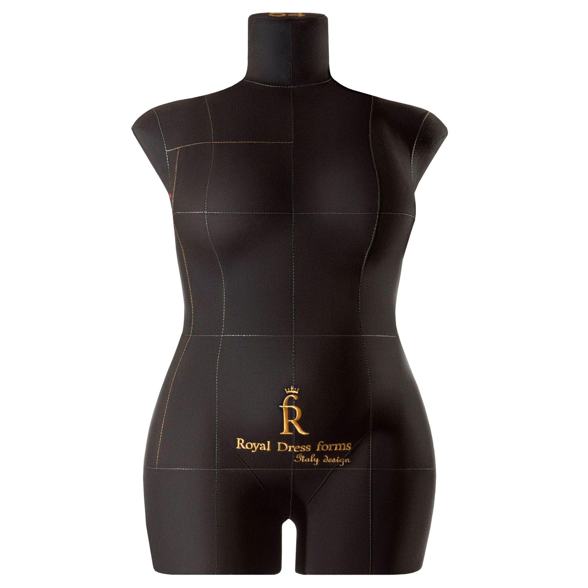 Манекен портновский Моника, комплект Премиум, размер 54, ЧерныйФото 1
