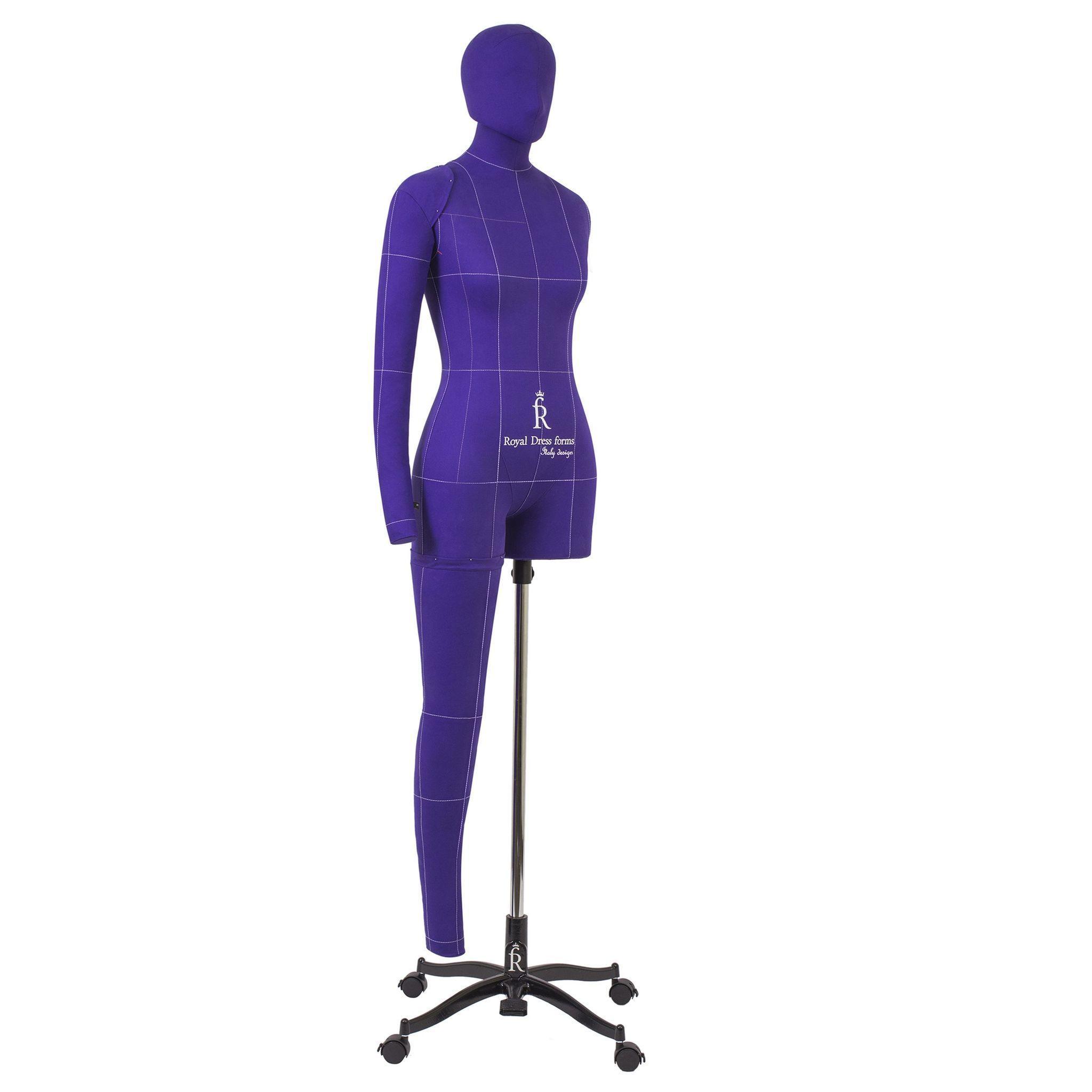 Манекен портновский Моника, комплект Арт, размер 50, ФиолетовыйФото 1
