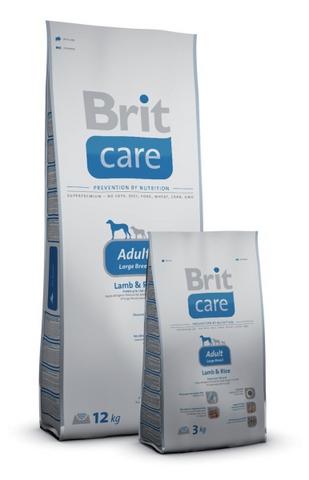 2189 Brit Care Adult Large Breed д/взрослых собак Крупных пород, ягненок с рисом 12кг