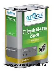 GT Oil HYPOID GL4 PLUS 75w-90