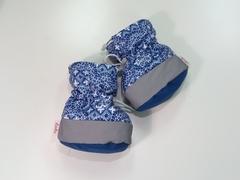 Слингоботы Lo-Lo синий с белым