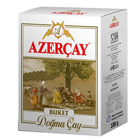 Азерчай (AZERCAY)  Buket Крупнолистный черный байховый чай
