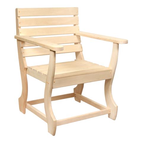Кресло с фигурными ножками 60х55х90 см