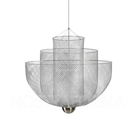 Подвесной светильник копия Meshmatics by Moooi D60 (серебряный)