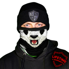 Шарф-труба SA Fleece Panda Fleece Face Shield (с черепом)