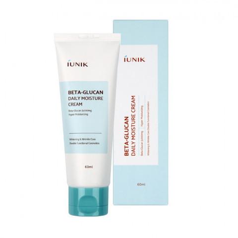 IUNIK Beta Glucan Daily Moisture Cream увлажняющий крем для лица с бета-глюканом