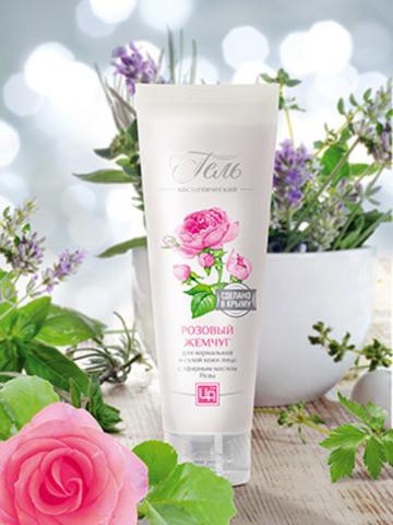 Гель для нормальной и сухой кожи Розовый жемчуг