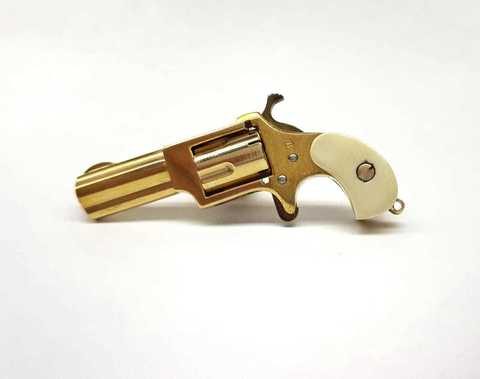 Miniature 2mm pinfire NAA revolver