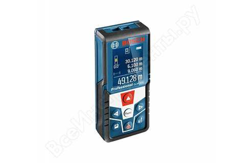 Лазерный дальномер Bosch GLM 500 Professional 0.601.072.H00