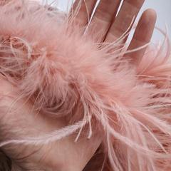 Боа  из перьев страуса и пуха 25 гр. пудра