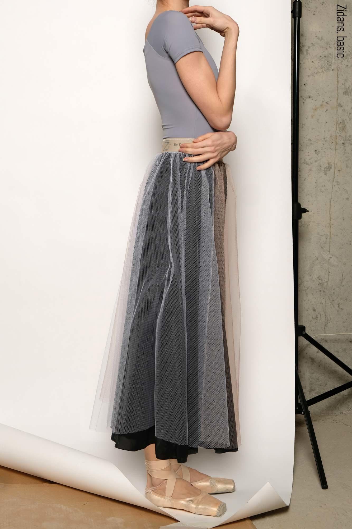 Репетиционная юбка-шопенка basic | черный