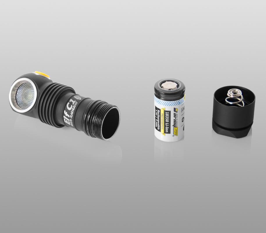 Мультифонарь Armytek Elf C1 Micro-USB - фото 6