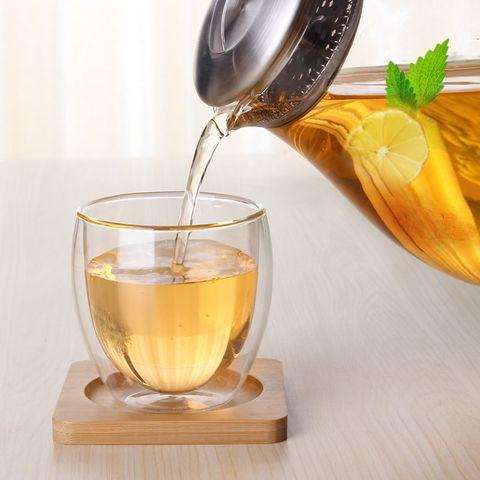 Чайник из жаропрочного стекла