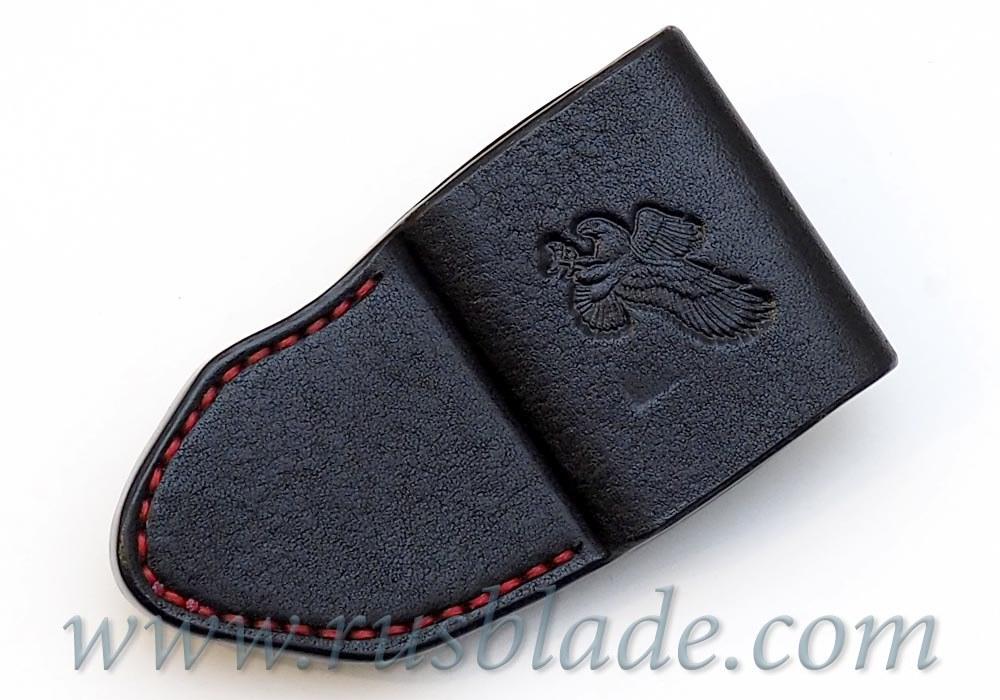 CUSTOM Handmade ZT 0095 Zero Tolerance 0095 Leather Sheath Black - фотография