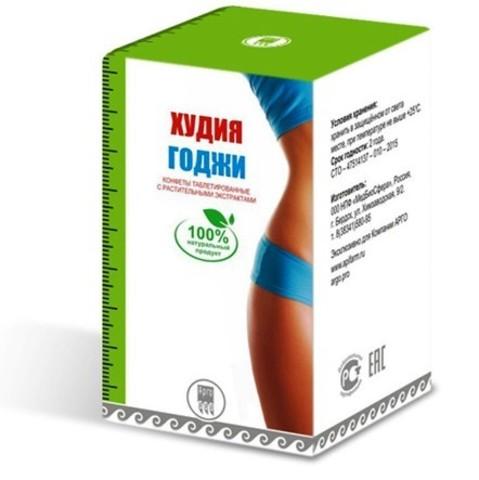 Конфеты таблетированные с растительными экстрактами Худия Годжи