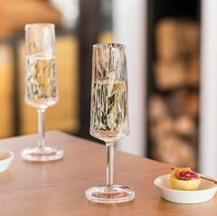 Бокал для шампанского Koziol Superglas CLUB NO. 5, 100 мл, мятный, фото 2