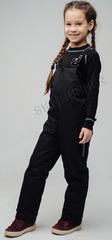 Детские теплые зимние брюки NordSki Active Black
