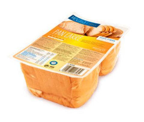 Хлеб белый нарезан н/белк (Pan Carre) 400гр Mеvаlia